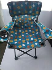 ozark trail s'mores kids chair,weight capacity 125 lbs,durable steel frame