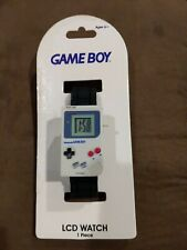 NINTENDO GAME BOY NEW LCD Wrist Watch Accutime Plastic Adjustable Official