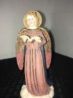 Christmas Angel Figurine 5 3/4 High