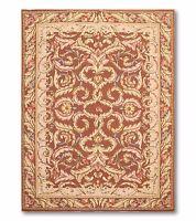 4 'x 6'  Handmade French Needlepoint Aubusson Area rug flat pile Wool 4x6