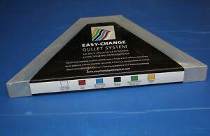 Bates Easy-Change Gullet #474 blue Medium Wide Medium-Large