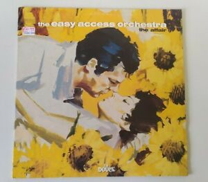 Easy Access Orchestra - the Affair rare 2 x vinyl LP gatefold downtempo jazz