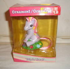 MY LITTLE PONY G3 TRIPLE TREAT ORNAMENT 2004 MIB AMERICAN GREETINGS