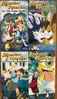 Lot of 4 Monster Rancher VHS Video New Anime English Dubbed Complete Collection