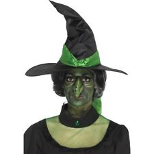 Witches Nose Green Foam Latex Prosthetic + Adhesive Fancy Dress Make Up