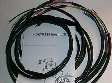 IMPIANTO ELETTRICO ELECTRICAL WIRING MOTO MORINI 125 TURISMO + SCHEMA ELETTRICO