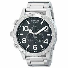 Nixon 51-30 Stainless Steel Band Wristwatches