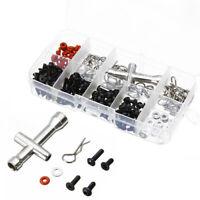 270x Schrauben Reparatur Satz Werkzeug RC Autoteile Für 1/10 Hsp Rc Car Auto CE