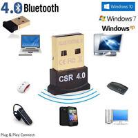 HOT Mini Bluetooth4.0 USB2.0 CSR4.0 Dongle Adapter For Win 8 7 XP Laptop PC Tool