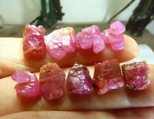 38.6ct-Vietnam natural Unheated Terminated RED PINK  RUBY  Crystals Specimen