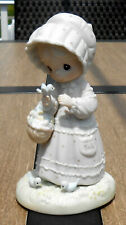 "Precious Moments Figurine - ""The Lord Will Provide"" - Limited Edition - 1 Year"