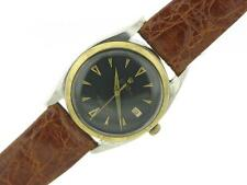 Rolex Oyster Perpetual Vintage Stainless Steel Gold Mens Watch Large Bubble back