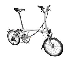 Brompton M6L 2019 Folding Bike Papyrus White New Colour FREE UK EU Shipping