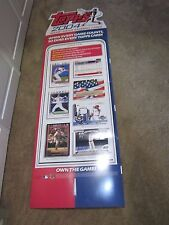 2004 TOPPS DEALER IN STORE STAND UP AD DISPLAY  (POS)