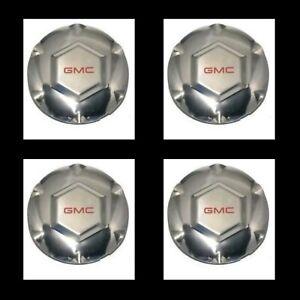 "4Pc New 2002 2003 2004-2007 For GMC Envoy XL XUV 17"" Wheel center Hub cap9593396"