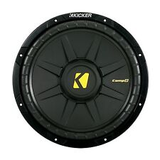 "KICKER CompD12 2x2Ohm  12"" 30cm Subwoofer Chassis /    Kicker Bass Subwoofer"