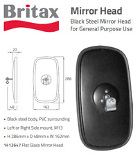 NEW BRITAX EXTERNAL HEAD MIRROR TRUCK PAINTED OBLG 286 X 162.0MM 1412647
