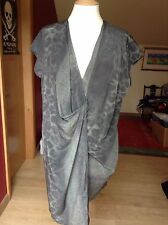 Silk V-Neck Animal Print Casual Dresses for Women