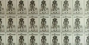 # 2089 20 cent Jim Thorpe Athlete full mint sheet of 50 MNH OG