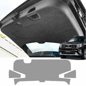 Felt Gray Trunk Lids Tailgate Cover Anti Scratch For KIA 2020 Borrego Mohave