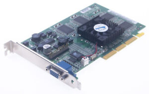 Dell Nvidia 180-P0020-0100-E GeForce 2 32MB AGP VGA Video Graphics Card - As-Is