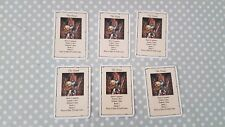 Heroquest Wizards of Morcar Men at Arms The Scout  Card Set - All 6 Cards