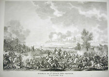 Bataille de St George près Mantoue Mantova Napoléon Bonaparte 1815 Carle Vernet