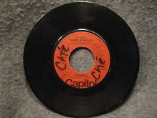 "45 RPM 7"" Record Tavares I Hope She Chooses Me & It Only Takes A Minute 4111"