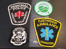 Patchbadge Military/Fire/Prisons/Police Obsolete Collection HAMILTON ref:MMJ27