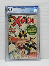 X-MEN #3 CGC 5.5 (Jan 1964, Marvel) 1st APPEARANCE OF THE BLOB WHITE PAGES