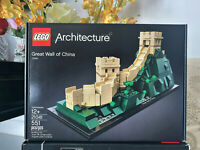LEGO ARCHITECTURE GREAT WALL OF CHINA Display set 21041 Toy Buy 2->5% OFF 4->10%