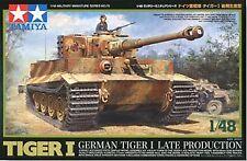 Tamiya 1/48 German Tiger I Late Production # 32575