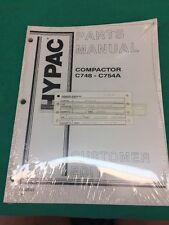 Hypac Compactor C748 - C754A Parts Manual Customer Edition