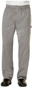 NWT DICKIES MEN'S CARGO STYLE STAIN RESISTANT CHEF PANTS IN HOUNDTOOTH DC14