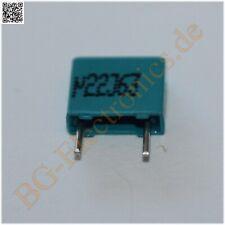 25 x 0.22 µF 0.22 uF 0nF 63V RM5 Folien Kondensator Capacitor Ra Epcos  25pcs