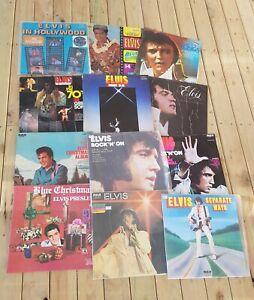 "Bulk Lot Vinyl Record Albums : ""ELVIS PRESLEY"" (1960s-70s) Great Condition"