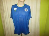 FC Schalke 04 Original Adidas Spieler Freizeit Training Trikot 2013/14 Gr.XL TOP