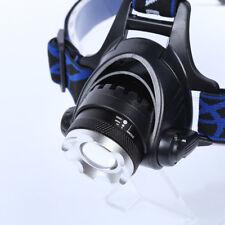 LED 5000 LM T6 CREE XM-L XML Zoomable Headlamp/Headlight Head Torch Light Bright