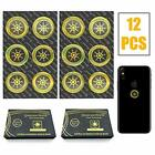 EMF Protection Sticker for Cell Phone, 12 Pack Anti-Radiation Shield Radiation N