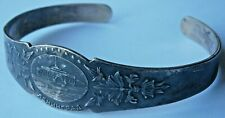 LENINGRAD Bracelet RUSSIA Soviet Jewelry USSR SILVERplated Nickelbronze ленингра