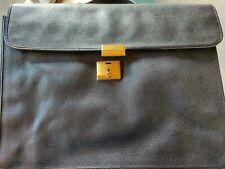 Authentic GUCCI Men's Briefcase Bag Soft Leather Black. Never used.