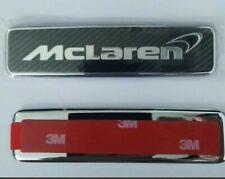 Genuine NEW McLaren 570S 570GT Front and rear Carbon Fiber Emblem Badge