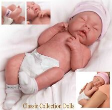 "Ashton Drake ""Dieu bénisse, Baby Grace"" anatomiquement correct Doll-New handrooted cheveux"