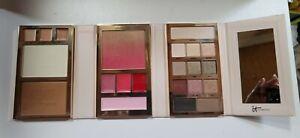 It Cosmetics NIB Beauty Book Eyeshadow Blush Bronzer Lipstick EyLiner Brow Power