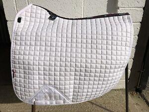 Le Mieux White Dressage Saddle Pad Pro Sport