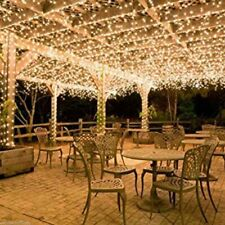 100-400LED Warm White String Fairy Lights Christmas Party Wedding Garden Decor