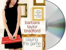 PLAYING THE GAME unabridged audio book CD by BARBARA TAYLOR BRADFORD - Brand New