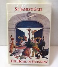 Guinness Playing Cards Unopened New St. James Gate The Home Of Guinness Belgium