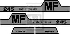 New Massey Ferguson Hood Decal Set MF245 w/Hump