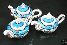 Turkish handmade ceramic teapot